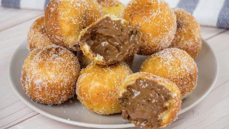 Palline graffa ripiene di cioccolato: facili da preparare e semplicemente irresistibili!