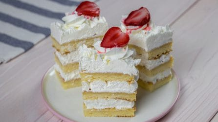 Creamy naked cake: an easy dessert for any occasion!
