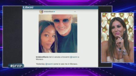 """Flavio Briatore con Naomi Campbell, Elisabetta Gregoraci: """"Mai stata gelosa di lei"""""""