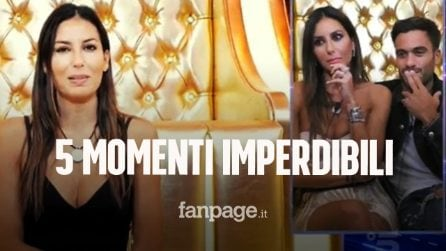 Grande Fratello Vip: i 5 momenti imperdibili della quinta puntata del reality show