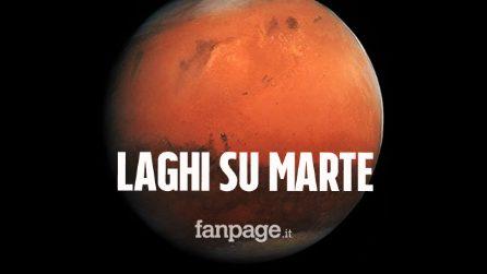 Ricercatori italiani scoprono rete di laghi salati su Marte: aumenta probabilità che ci sia vita