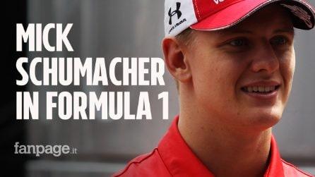"""Mick Schumacher pronto per il debutto in Formula 1: """"Sono felicissimo di avere questa possibilità"""""""