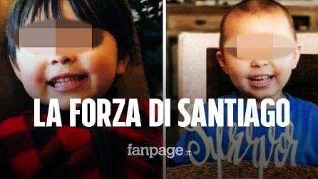 La storia del piccolo Santiago: a 4 anni sconfigge la leucemia dopo 93 sedute di chemioterapia