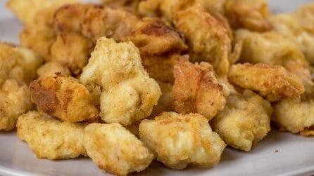 Pop corn di pollo: la ricetta facile e sfiziosa che conquisterà grandi e piccini!