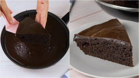 How to make a delicious cake directly in a pan!