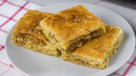 Savory Phyllo cake: a delicious dinner idea to try!