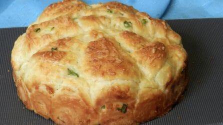 Torta di pane soffice: la ricetta rustica che tutti adoreranno