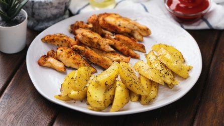 Il trucchetto per un pollo succoso e tenero in forno!