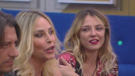 """GF Vip, Myriam Catania a Franceska Pepe: """"Come puoi permetterti i vestiti che indossi?"""""""
