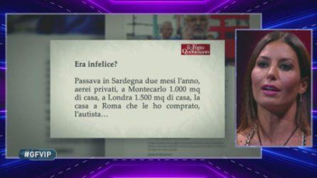 GF VIP - La replica di Elisabetta al suo ex Flavio Briatore