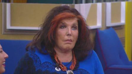 """GF VIP - Patrizia De Blanck: """"Tina Cipollari può andare al mercato a vendere le cipolle"""""""