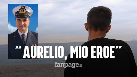 """Milazzo, parla il 15enne salvato da Aurelio Visalli: """"Ciao mio eroe, grazie di tutto"""""""