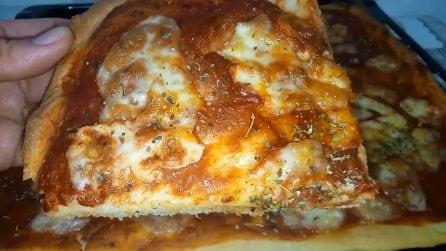 Pizza al taglio senza bilancia: la ricetta per averla davvero perfetta