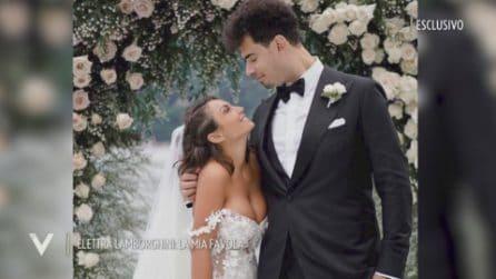Le nozze di Elettra Lamborghini e Nick van de Wall: il ricevimento