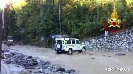 Maltempo in Piemonte: Limone ricoperto di acqua e fango