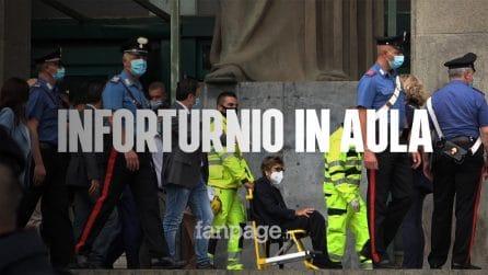 """""""Chiederemo conto al ministro Bonafede"""". Salvini racconta l'infortunio della senatrice Bongiorno"""