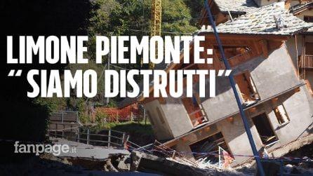 """Alluvione a Limone Piemonte, la statale diventa un fiume, una casa crollata: """"Siamo distrutti"""""""