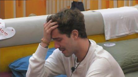 """GFVip, Tommaso Zorzi in lacrime: """"Ho bisogno di buttare tutto fuori"""""""