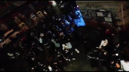Allarme Covid, folla e assembramenti nel fine settimana a Napoli