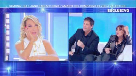 """Domenica Live: Il compagno di Viola Valentino ha un'amante?, lui: """"Bugie, ma sono stato trascurato"""""""