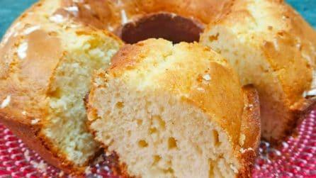 Ciambellone soffice alla vaniglia: la ricetta del dessert che vi conquisterà