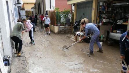 Ventimiglia, migliaia di volontari portano il proprio aiuto dopo l'alluvione