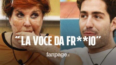"GFVip, Patrizia De Black rischia la squalifica: ""Stamattina ho la voce del gay, del fro*io"""