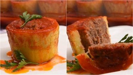 Stuffed zucchini: a delicious dish ready in no-time!