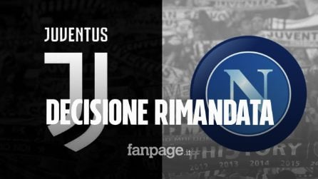 Juventus - Napoli, decisione rimandata dal Giudice Sportivo: ecco perché