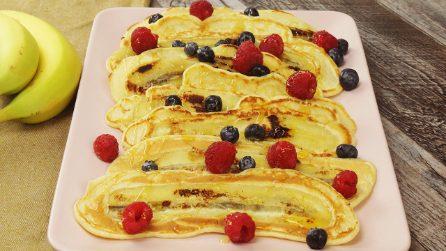 Pancakes alla banana: pronti con soli 5 ingredienti!