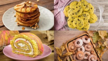 4 Ricette dolci che non pensavi di poter realizzare usando la zucca!