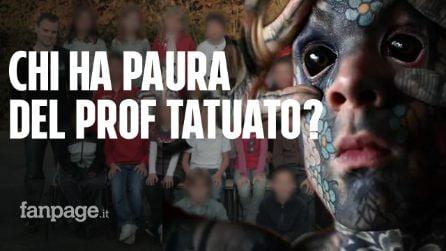 """Il prof più tatuato del mondo: """"Non posso più insegnare ai bambini, sono dei codardi"""""""