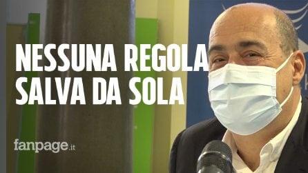 """Covid, Zingaretti: """"Preoccupazione Sindaci fondata, su chiusura piazze coinvolgere prefetti e Asl"""""""