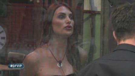 """GF Vip: Franceska Pepe ritorna nella casa: """"Mi dispiace per quello che ho detto"""""""