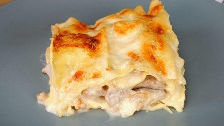 Lasagne funghi e salsiccia: il primo piatto autunnale cremoso e facile da preparare!
