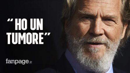 """Jeff Bridges ha un linfoma: """"È una malattia grave, ma mi sento fortunato"""""""