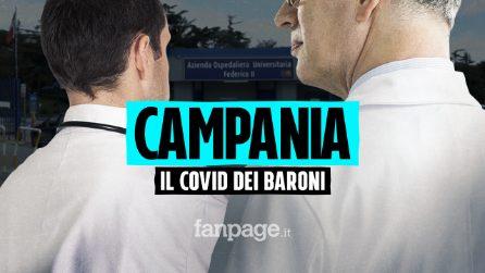 """Covid, emergenza posti letto in Campania. Al Policlinico i prof """"scansano"""" il coronavirus"""
