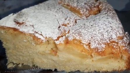Torta di mele e arance senza bilancia: la ricetta soffice e deliziosa