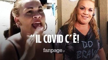 """Angela da Mondello cambia idea su Instagram: """"Il Covid c'è. Mettiamo la mascherina"""""""