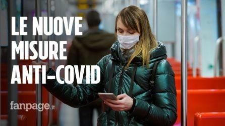 Guanti obbligatori sui mezzi pubblici e chiusure anticipate per i locali: le nuove misure anti-Covid