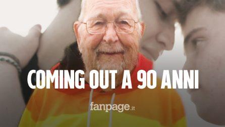 """Fa coming out a 90 anni: """"Non è mai troppo tardi per essere felici"""""""