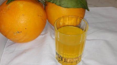 Liquore all'arancia: la semplice ricetta per farlo in casa