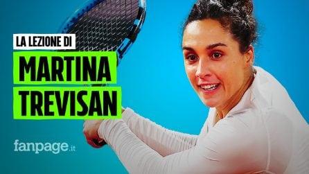 """Martina Trevisan: """"Il mio tennis più forte dell'anoressia"""""""