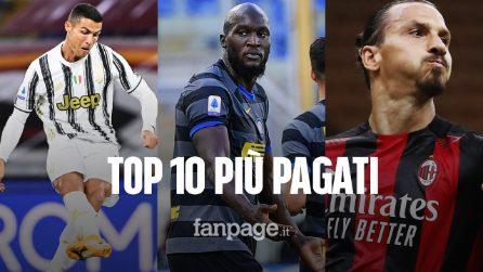 Stipendi Serie A 2020-21: chi sono i top 10 giocatori più pagati del calcio italiano
