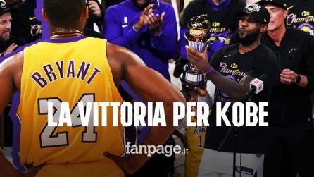 I Lakers vincono la NBA 2019-2020: la vittoria nella stagione dedicata a Kobe Bryant