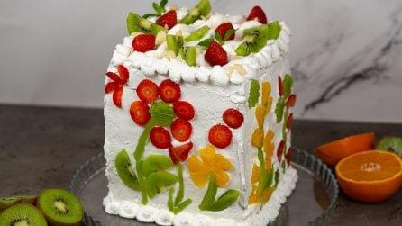 Torta furba alla frutta: il trucchetto per una torta meravigliosa in pochi passi!