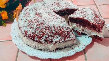 Torta soffice al cioccolato con ripieno cremoso: resistere sarà impossibile