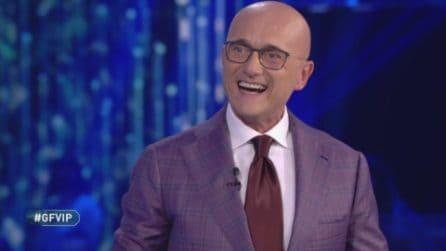 La nona puntata del GF Vip 2020, Alfonso Signorini saluta il pubblico
