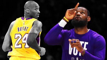 I Los Angeles Lakers vincono il 17° titolo NBA: è la vittoria nel ricordo di Kobe Bryant