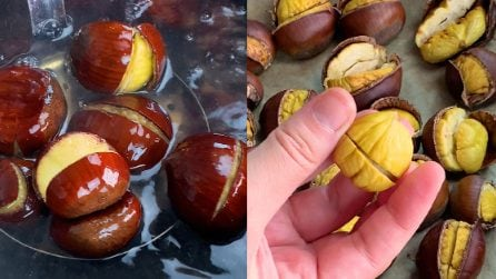 How to peel chestnut skin easily: the hack to try right now!